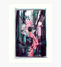 Hologram Art Print