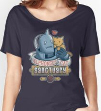 Alphonse's Cat Sanctuary Women's Relaxed Fit T-Shirt
