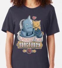 Alphonse's Cat Sanctuary Slim Fit T-Shirt
