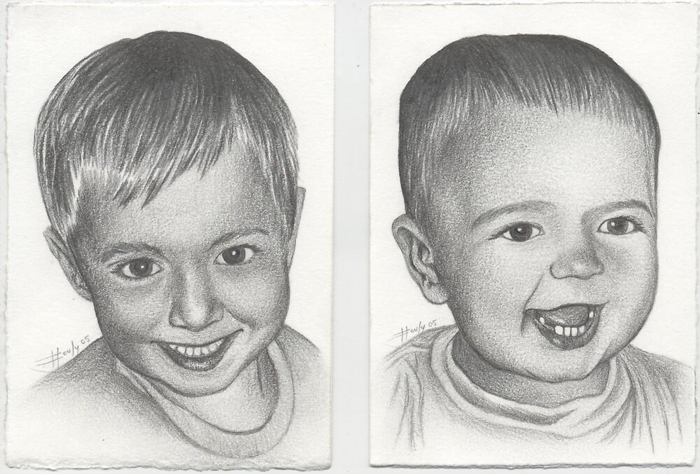 Trey and Adam by John Houle