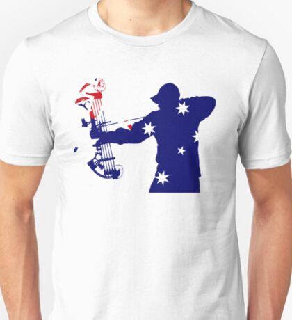 Australian Flag Bow Hunter T-Shirt
