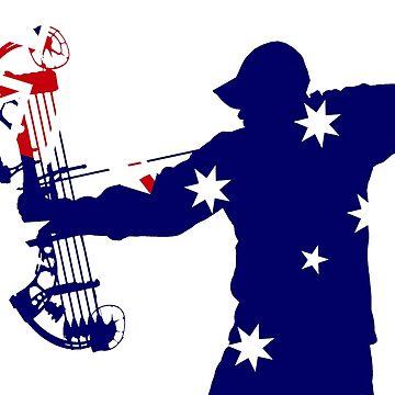 Australian Flag Bow Hunter by cstronner