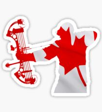 Canadian Bow Hunter Sticker