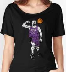 Jason Williams White Chocolate Basketball  Women's Relaxed Fit T-Shirt