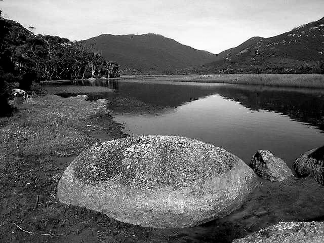 tidal river reflections by melanie tschiderer
