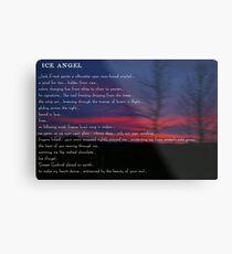 Ice Angel Metal Print