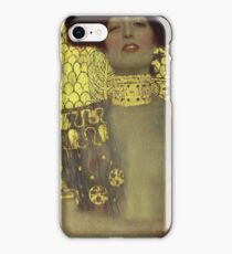 Gustav Klimt - Judith iPhone Case/Skin