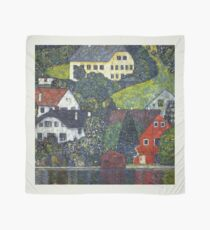 Gustav Klimt - Houses At Unterach On The Attersee Scarf