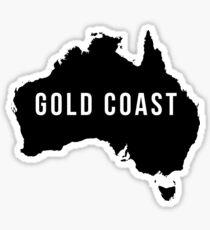 Gold Coast, Australia State Silhouette Sticker
