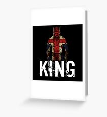 WWE Neville - King of the Cruiserweights Greeting Card