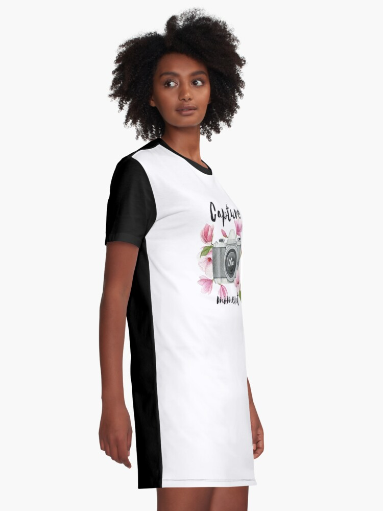 Alternate view of Capture the moment Graphic T-Shirt Dress