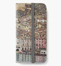 Gustav Klimt - Gustav Klimt iPhone Flip-Case/Hülle/Klebefolie