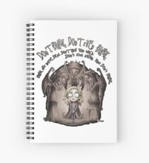 dont blink Spiral Notebook