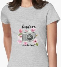 Capture the moment Women's Fitted T-Shirt