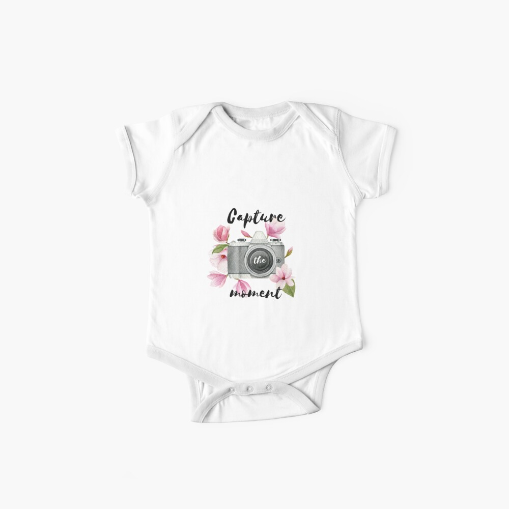 Capture the moment Baby One-Piece