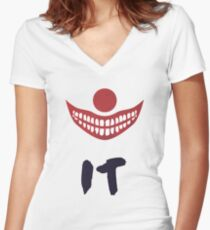 Stephen King's It  Women's Fitted V-Neck T-Shirt