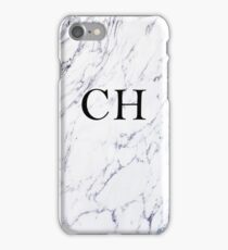 Personalised initials - Marble (Message your initials before purchase! Open artist notes below) iPhone Case/Skin