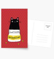 FUR ANTIDEPRESSANT Postkarten