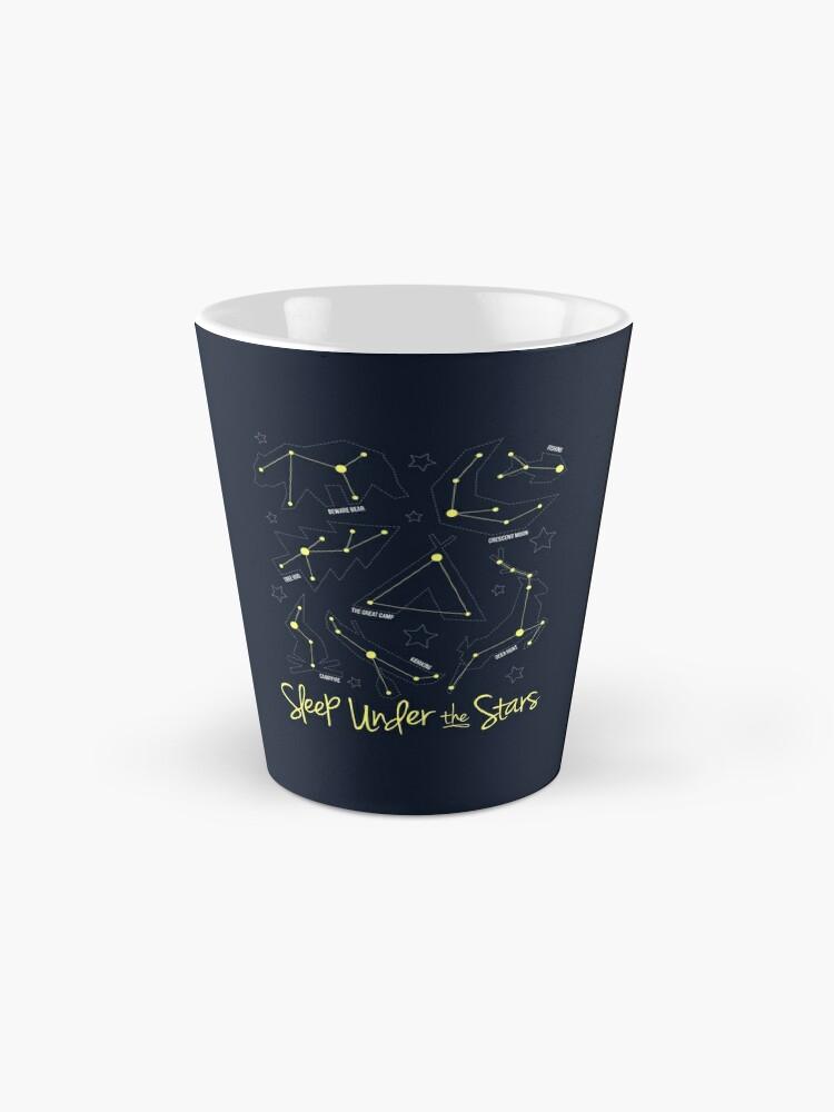 Alternative Ansicht von Unter den Sternen schlafen Tasse