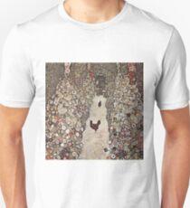 Gustav Klimt - Garden With Roosters Unisex T-Shirt