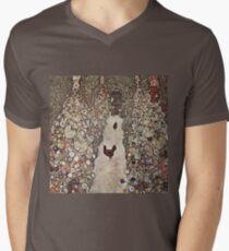 Gustav Klimt - Garden With Roosters T-Shirt