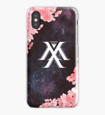 Monsta X Symbol - Galaxy Flowers iPhone Case
