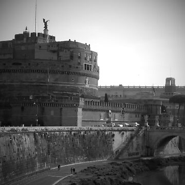 The castle of Rome by emmepi