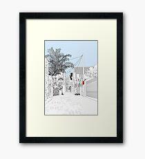 No Stopping - finalist paddington art prize 2007 Framed Print