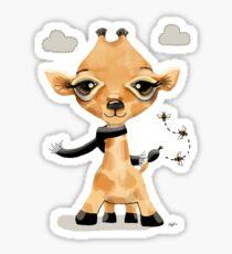 Little Giraffe Sticker