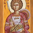 St George the Great Martyr by ikonographics
