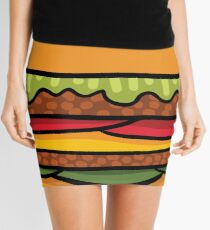 burger Mini Skirt