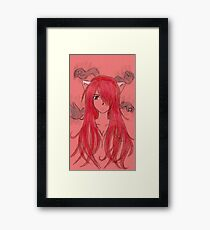 Lucy Vectors Framed Print