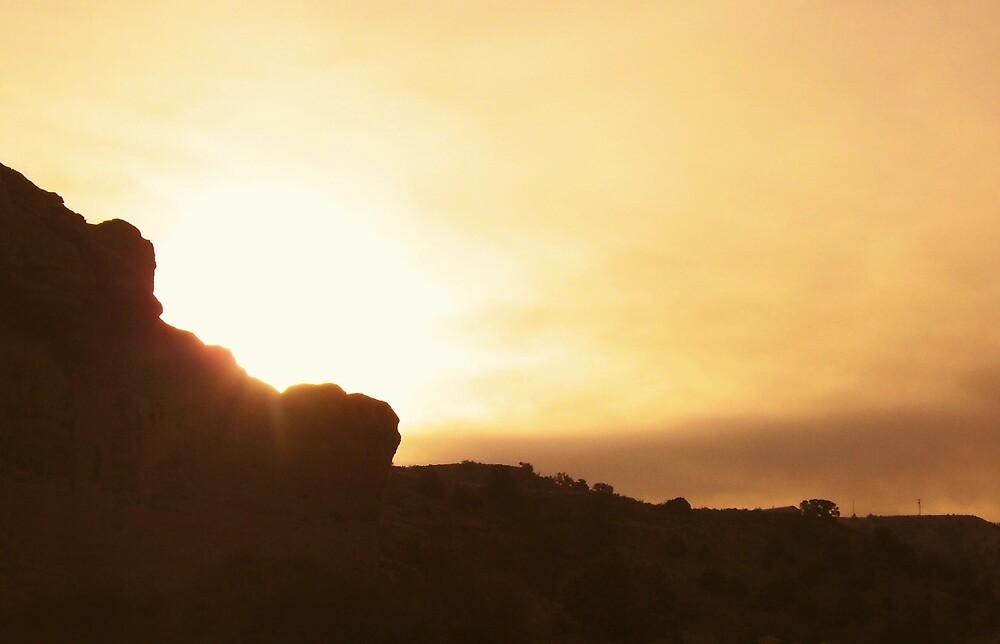 hill bound sunrise by kristal ingersoll