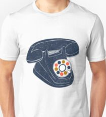 Retro Telephone Unisex T-Shirt