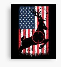 Deer Hunting Canvas Print