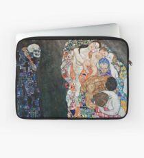 Funda para portátil Gustav Klimt - Muerte y vida 1910