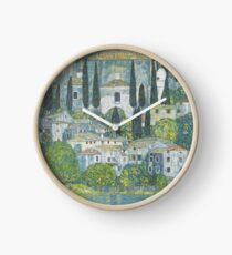 Reloj Gustav Klimt - Iglesia en Cassone, 1913