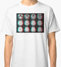 Brain Scan (Black Tee) Classic T-Shirt