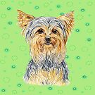 Yorkie (Yorkshire Terrier) to love by didielicious