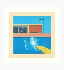 David Hockney A Bigger Splash Art Print