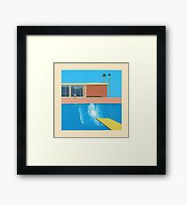 David Hockney A Bigger Splash Framed Print