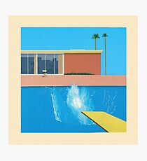 David Hockney A Bigger Splash Photographic Print