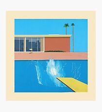 David Hockney A Bigger Splash Photographic Print