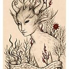 Fae (Print with white border) by NadiaTurner