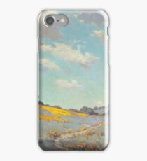 Granville Seymour Redmond - Patch Of Poppies iPhone Case/Skin