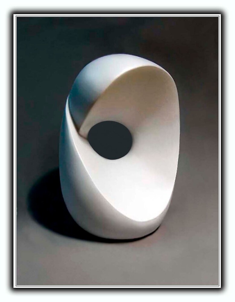 Abstract sculpture by dominick