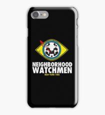 Neighborhood Watchmen iPhone Case/Skin