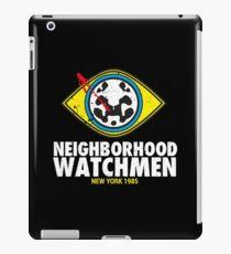 Neighborhood Watchmen iPad Case/Skin