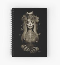 Day of the Dead Art, Day of the Dead Picture ,Dia De Los Muertos Spiral Notebook