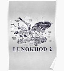 CCCP Lunokhod 2  Poster
